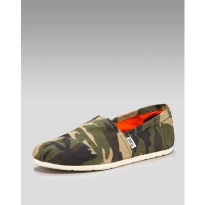 Camo toms <3  why can't i find these just as bright and colorful?????