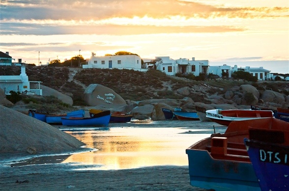 Paternoster, a quaint fishing village up the West Coast, Cape Town, South Africa