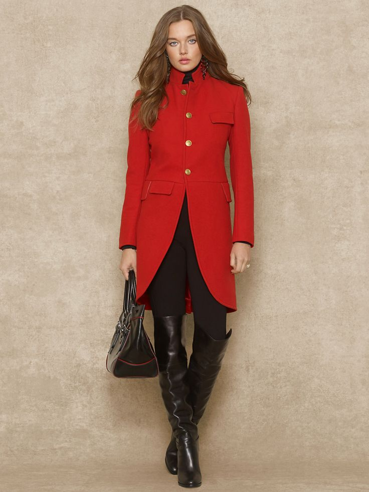 50 best • Red Coat • images on Pinterest | Red coats, Clothes and ...