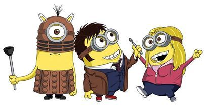 Doctor Who minions. Oh. My. Goodness. This. Is. Adorable!!
