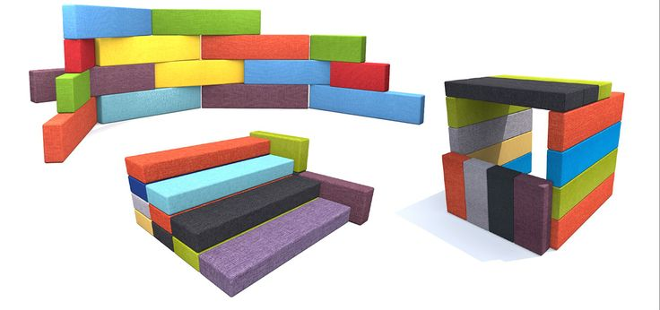 Genga blocks are a versatile addition to any classroom. Can be used for seating, work surfaces, or for soft structures.