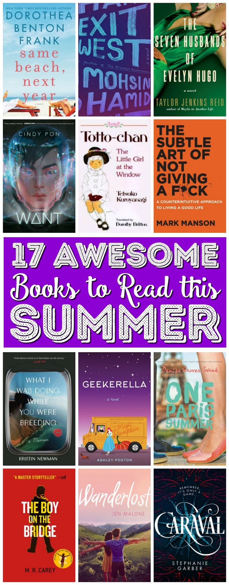 17 Books To Read This Summer