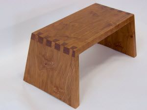 Learn how to make a dovetailed wooden step stool that is attractive to the eye, sturdy enough to hold weight, and small enough to store.