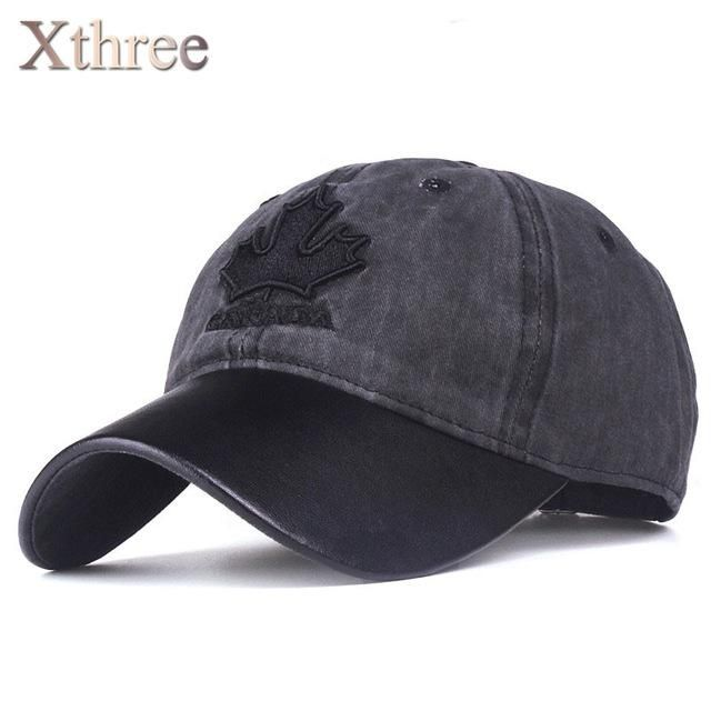 rhandz Xthree baseball cap canada embroidery Letter snapback hat for men & women casquette gorras