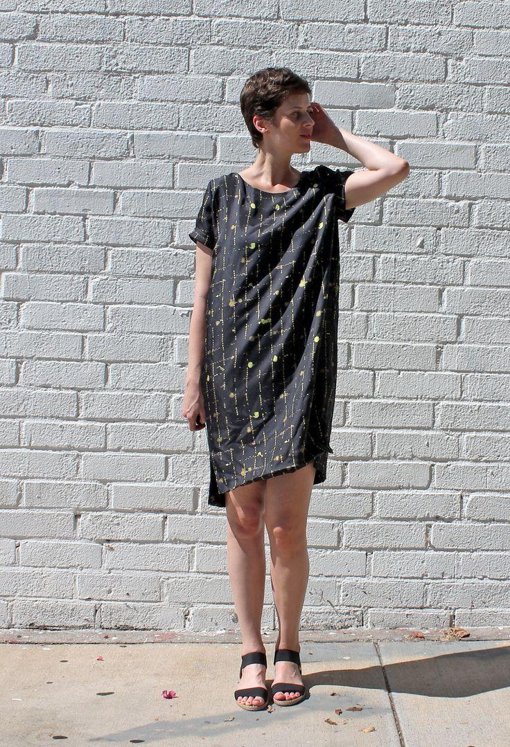 DIY Silk Cocoon Dress | Sew DIY