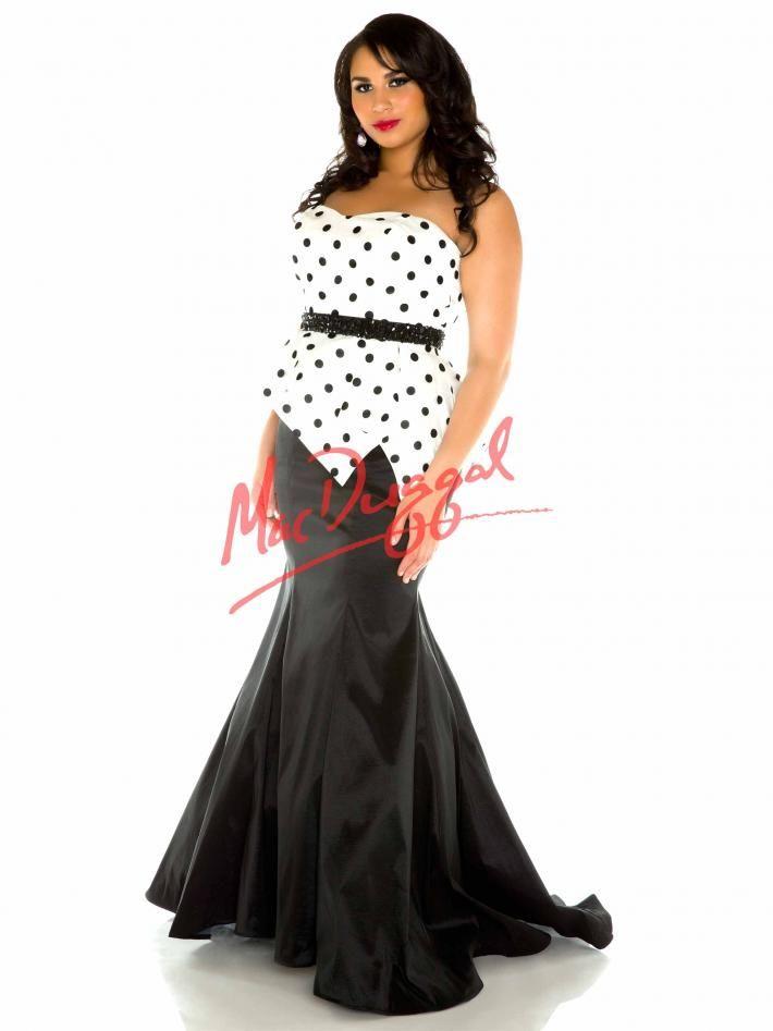 Mac Duggal White Prom Dresses
