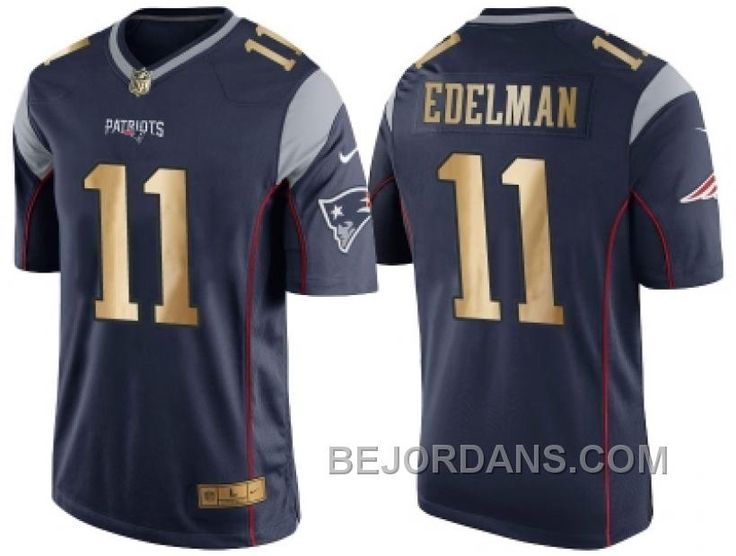 http://www.bejordans.com/free-shipping-60-off-nike-new-england-patriots-11-julian-edelman-navy-blue-mens-nfl-game-2016-christmas-golden-edition-jersey.html FREE SHIPPING ! 60% OFF! NIKE NEW ENGLAND PATRIOTS #11 JULIAN EDELMAN NAVY BLUE MEN'S NFL GAME 2016 CHRISTMAS GOLDEN EDITION JERSEY Only $20.00 , Free Shipping!
