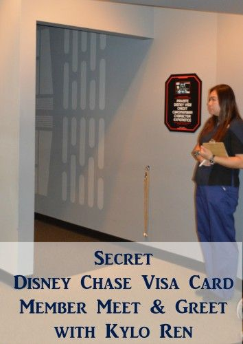 Having a Disney Visa card certainly has its perks. The newest Disney Visa Card Perk is the Kylo Ren Meet and Greet at Hollywood Studios.