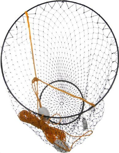 """A reliable 36"""" crab net.  If you've had a rough crabbing season, it's time to change that. #CrabNet"""