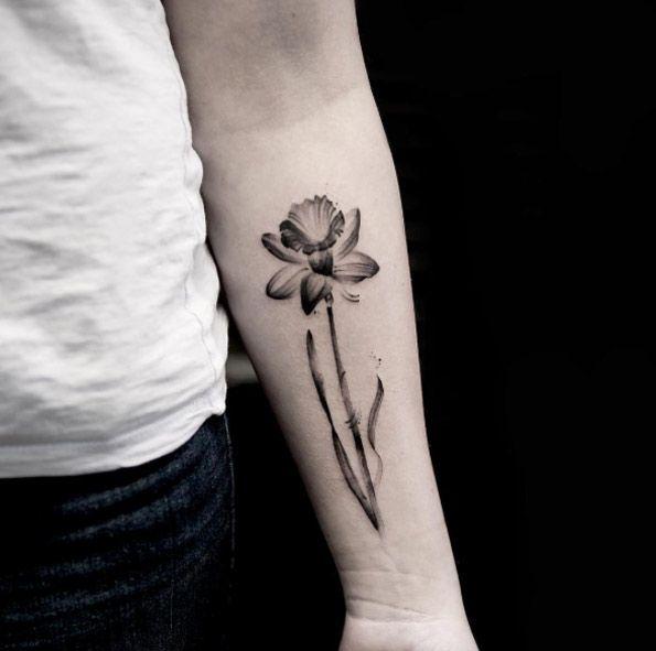 X-ray Daffodil by Georgia Grey