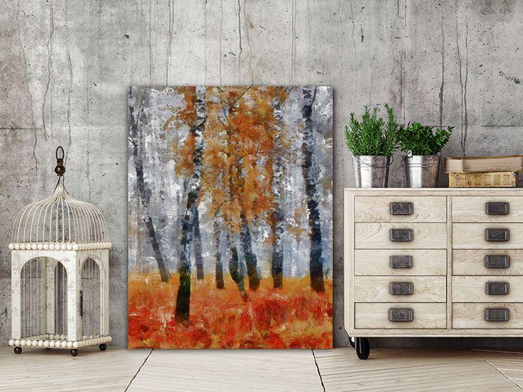 Διακόσμηση με Πίνακες σε καμβά #digiwall από την κατηγορία ΤΕΧΝΗ : Φθινόπωρο στο δάσος