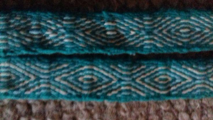 Fjerde brikvævning - bomuld (for- og bagside)