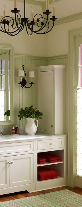 50 Shades of Green: Green Bathroom Design Ideas   What's Your Reaction?