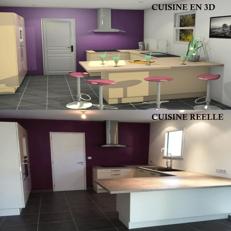 7 best Îlot images on Pinterest Kitchen ideas, Kitchens and Open