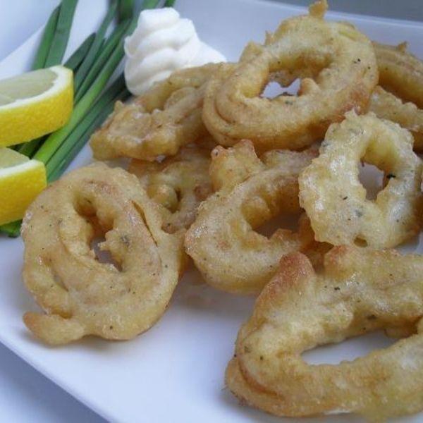 Кольца кальмара в кляре рецепты с фото