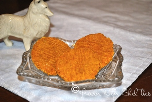 Old Fashioned Pumpkin Dog Biscuits