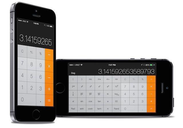 Comment accéder à la calculette scientifique iphone
