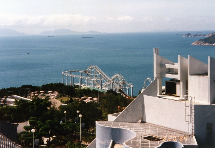 Hong Kong Ocean Park 1994 - Picture taken by me while in the Navy.