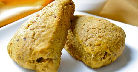 healthy pumpkin scones I added some chocolate chips, cut down on the ...