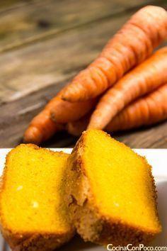 bizcocho de zanahoria receta facil sin gluten