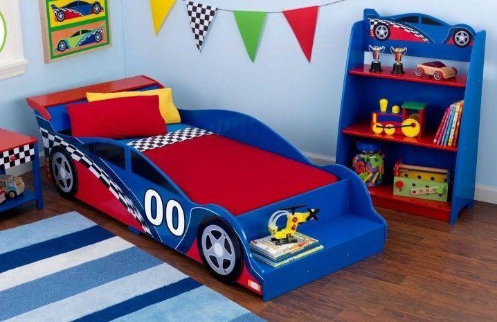 Race Car Bedroom Decor New Wonderful Boys Rooms With Car Theme Kamar Tidur Anak Anak Tempat Tidur Anak Kamar Tidur Anak