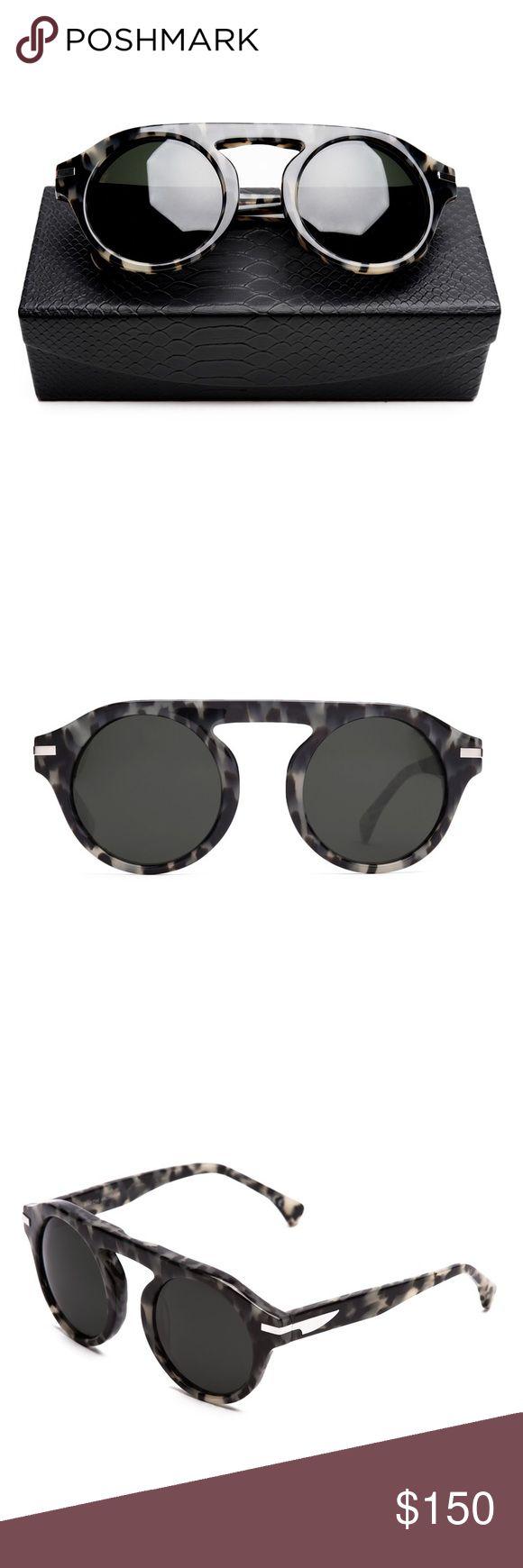 SupperClub Baron Sunglasses BARON IN GRAVEL TORTUGA. (Barely Worn) Comes With Original Box Supperclub Accessories Glasses