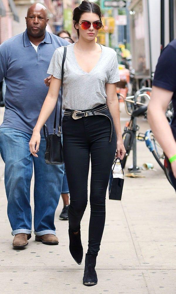 Kendall Jenner Channels Off-Duty Model Style