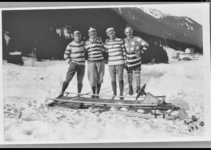 The Athletes of the First Winter Olympics in 1924