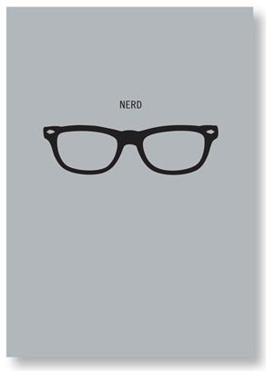Seltzer Goods - Nerd glasses notebook