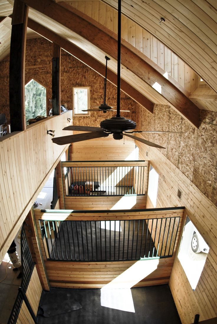 Stable interior love the loft
