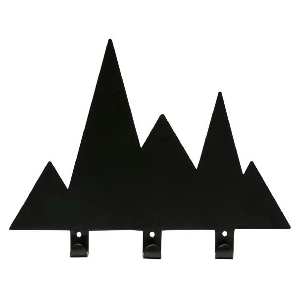 Mountain range hooks by General Eclectic, available at kapa.co.nz