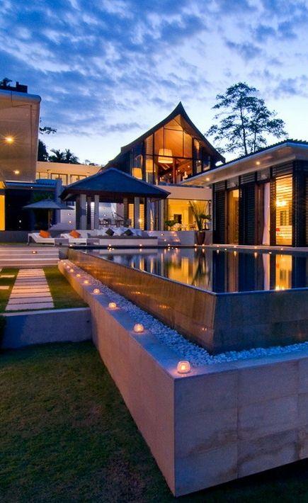 World of Architecture: Fresh and Exotic Contemporary Villa Design