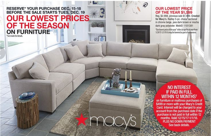 Macy's Furniture ad December 19 - January 15, 2018 - http://www.olcatalog.com/dept-clothing/macys-weekly-ad-catalogs.html