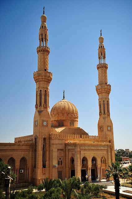 Mosque in the city of Benghazi, Libya. #travel