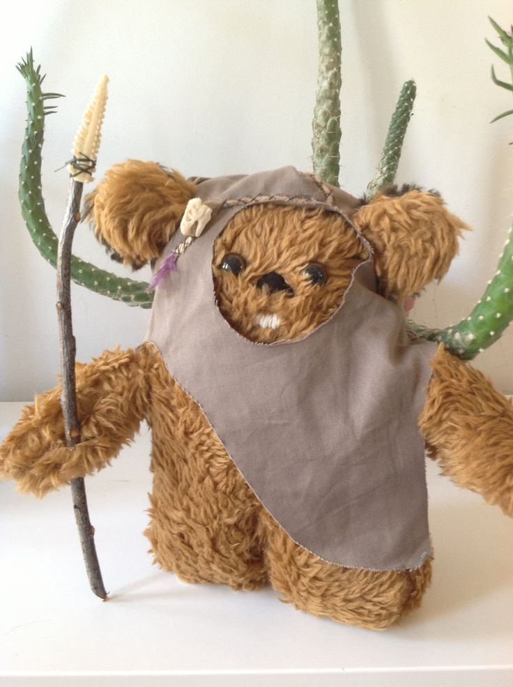 Ewok! Made by me, my husband and our son :-)
