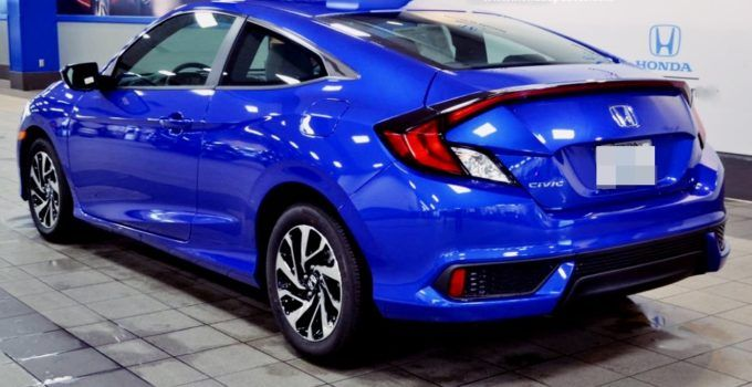 2019 Honda Civic Coupe Redesign Honda Civic Coupe Civic Coupe Honda