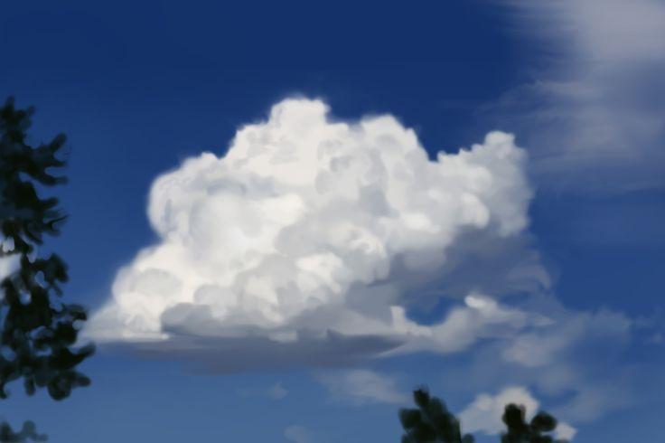 speed painting/Yuk Seong Jin/30min./cloud