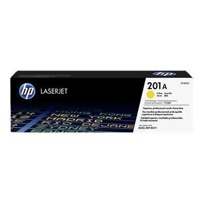 HP 201A toner LaserJet jaune authentique (CF402A) pour HP Color LaserJet Pro M252/M274/M277