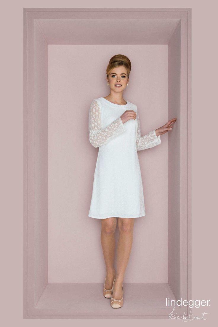 wedding dress boho Darf es sich um ein unkompliziertes, superschnes Boho-Hochzeitskleid handeln Zu Gunsten von dasjenige Standesamt, die Gartenparty, pro ein unvergess... #BohoKleid #Kurzes