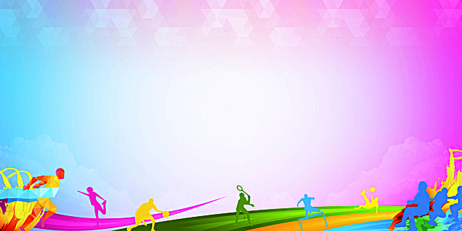 Colorful Background Silhouette Figures Colorful Backgrounds Background Images Color