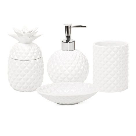 Pineapple Bathroom Set | ZARA HOME United States of America