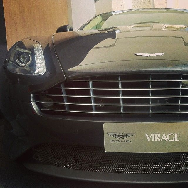 Aston Martin - Virage via @gtozetti.