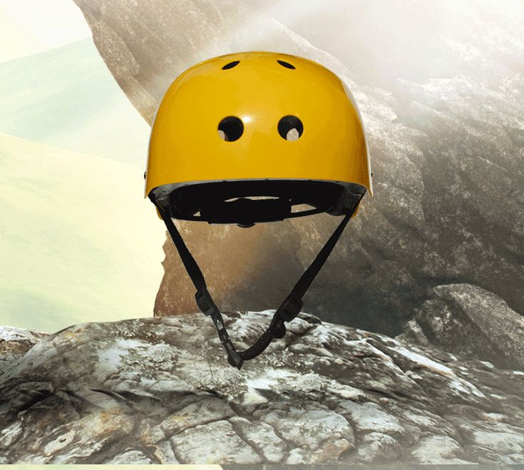 Mountain Rock Climbing Helmet Adjustable Safety Cap Head Protector For Downhill Caving Rescue