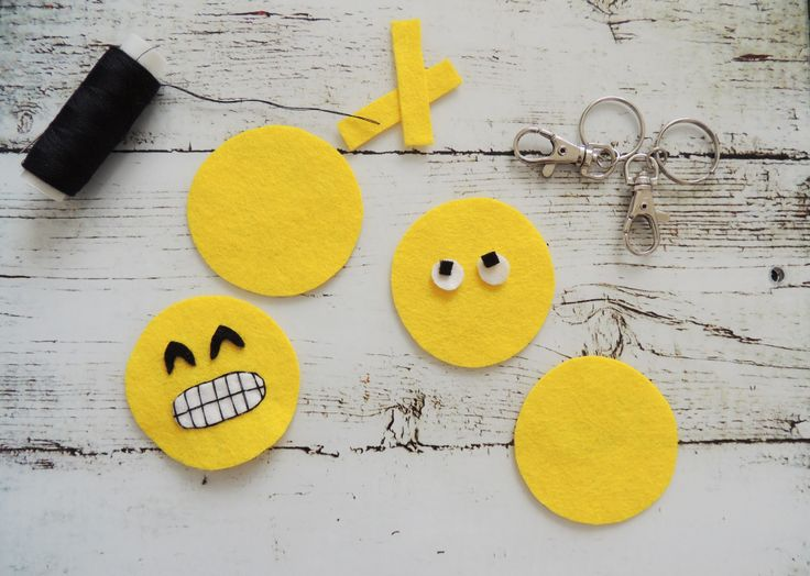 felt emoji faces Crafternoon Cabaret Club