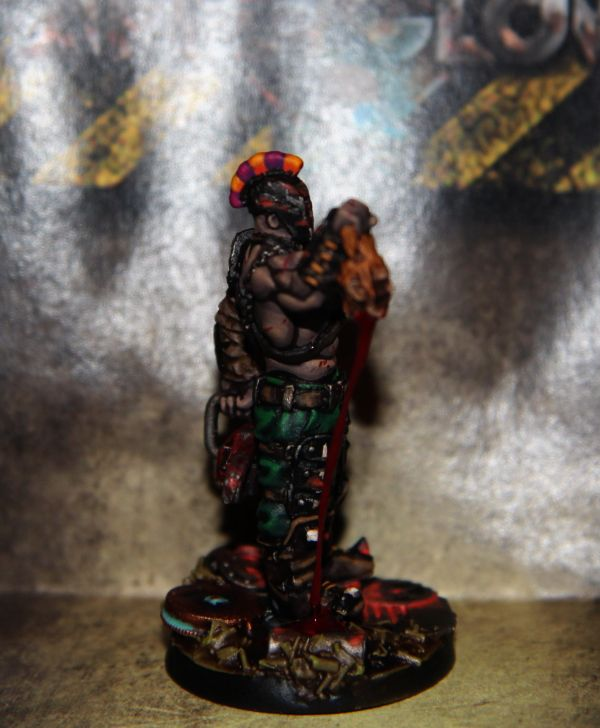 Afterglow | Gladiator #afterglow #postapo #fallout #wargaming #tabletom #miniatures #painting