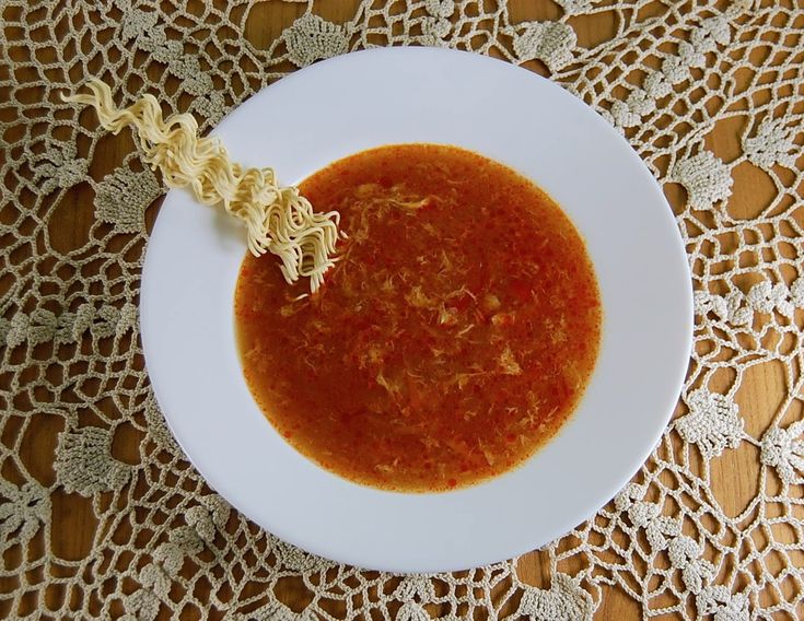 Rezept Pekingsuppe vom China Restaurant Gemüse Pochieren Suppe #asianfood #asiatisch #exotisch