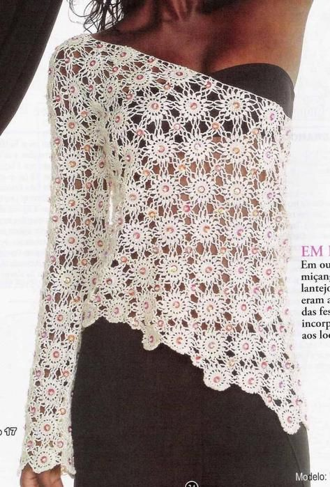 Free pattern and diagram pattern. In Russian, so hit translate. I love this, it's so pretty.
