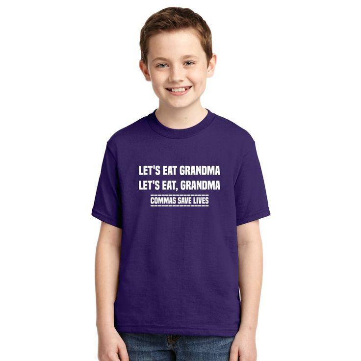 Let's Eat Grandma Youth T-shirt
