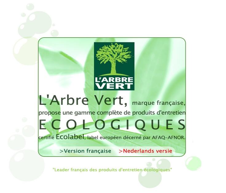 L 39 arbre vert l 39 ecologie pour vos produits d 39 entretien - Produits d entretien maison ...