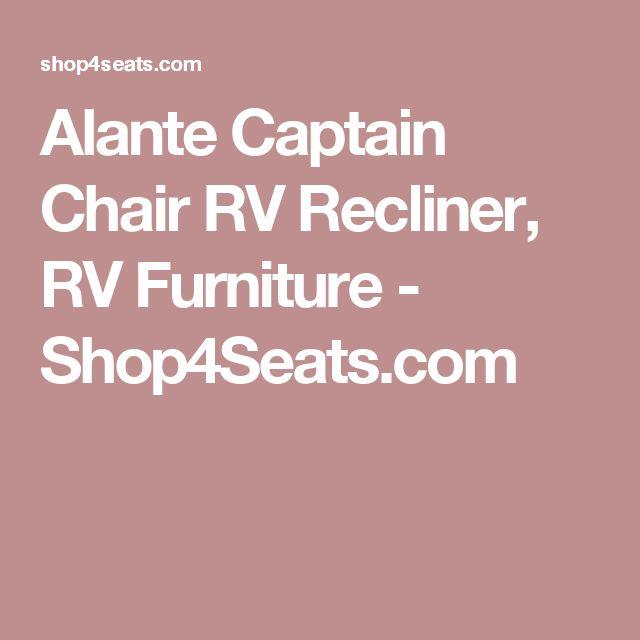 Alante Captain Chair RV Recliner, RV Furniture - Shop4Seats.com